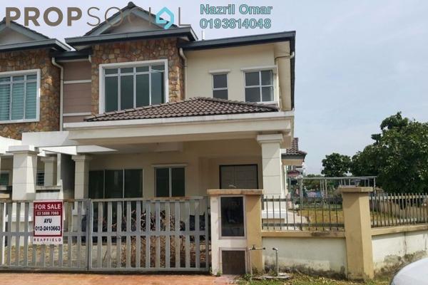 For Sale Terrace at Kemuning Avenue, Kota Kemuning Leasehold Unfurnished 4R/3B 1.05m