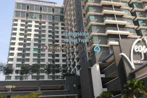 For Sale Condominium at Vega Residensi, Cyberjaya Leasehold Semi Furnished 1R/1B 320k