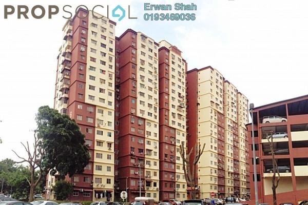 For Sale Apartment at Cemara Apartment, Bandar Sri Permaisuri Leasehold Unfurnished 3R/2B 340k