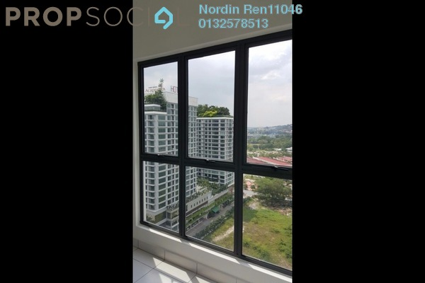 For Sale Condominium at Metia Residence, Shah Alam Leasehold Semi Furnished 3R/1B 550k