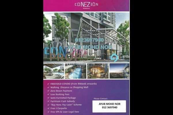 For Sale Condominium at Conezión @ IOI Resort City, Putrajaya Freehold Unfurnished 3R/3B 464k