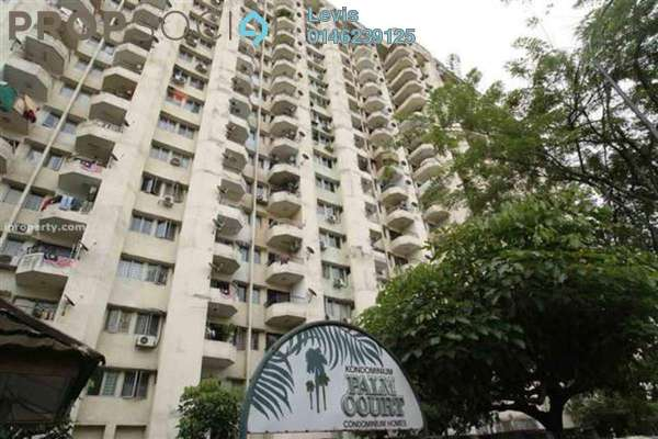 For Rent Condominium at Palm Court, Brickfields Freehold Fully Furnished 3R/2B 2.8k