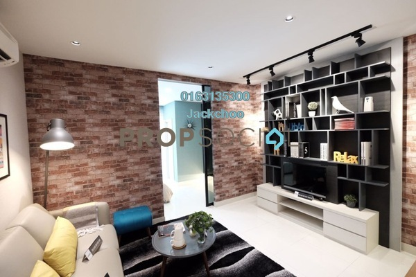 For Sale SoHo/Studio at Liberty @ Arc Central, Ukay Freehold Fully Furnished 0R/0B 320k