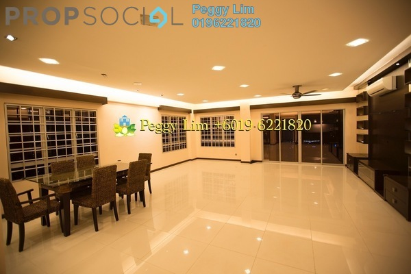 For Rent Condominium at Continental Heights, Kuchai Lama Freehold Semi Furnished 3R/3B 2.4k