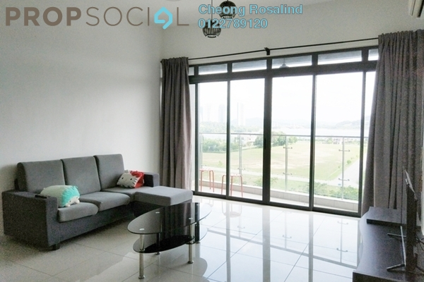 For Rent Condominium at Mirage By The Lake, Cyberjaya Freehold Fully Furnished 2R/2B 3k