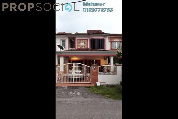 For Sale Terrace at Taman Tun Teja, Rawang Leasehold Semi Furnished 4R/3B 550k
