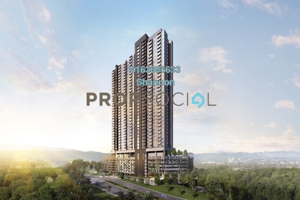 For Sale Condominium at Amani Residences, Bandar Puteri Puchong Freehold Unfurnished 2R/2B 491k