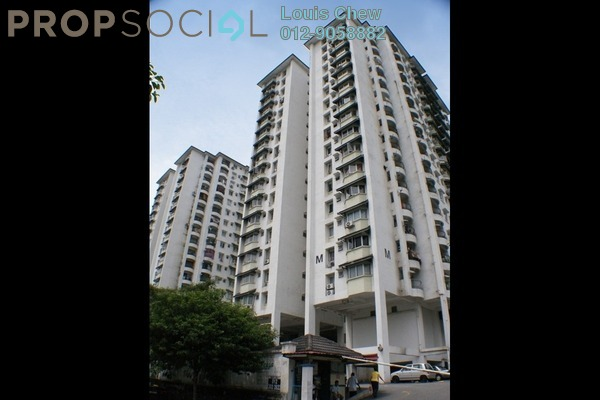 For Sale Condominium at D'casa Condominium, Ampang Leasehold Semi Furnished 3R/2B 305k