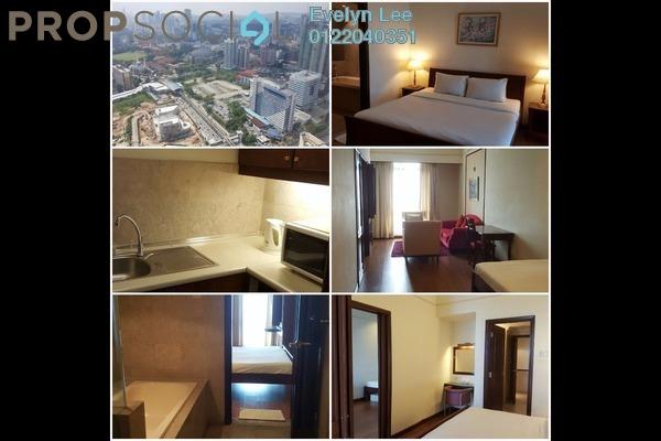 For Sale Condominium at Berjaya Times Square, Bukit Bintang Freehold Fully Furnished 1R/1B 900k