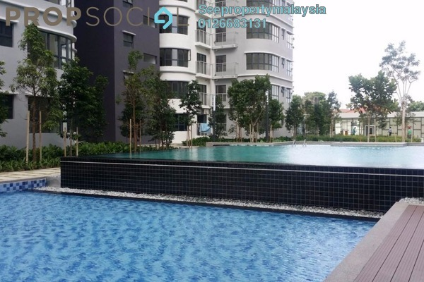 For Rent Condominium at Boulevard 51, Petaling Jaya Leasehold Semi Furnished 3R/2B 1.8k