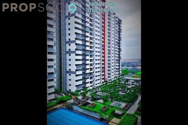 For Sale Condominium at Koi Kinrara, Bandar Puchong Jaya Freehold Unfurnished 2R/2B 399k
