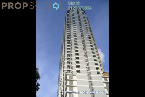 For Rent Condominium at i-Zen Kiara I, Mont Kiara Freehold Fully Furnished 2R/2B 2.8k
