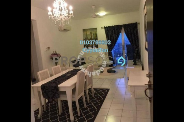 For Sale Condominium at Plaza Menjalara, Bandar Menjalara Leasehold Fully Furnished 4R/2B 650k