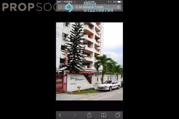 For Sale Apartment at Sri Bangsar Apartment, Bangsar Freehold Fully Furnished 2R/2B 635k