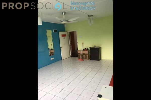 For Sale Apartment at Saujana Apartment, Damansara Damai Leasehold Semi Furnished 3R/1B 280k