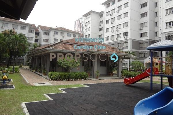 For Rent Apartment at Fairville, UEP Subang Jaya Freehold Semi Furnished 3R/2B 1.3k
