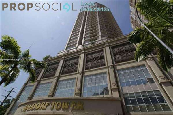 For Rent Condominium at Waldorf Tower, Sri Hartamas Freehold Fully Furnished 1R/1B 1.8k