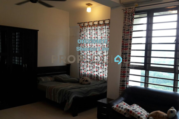 For Rent Apartment at Ritze Perdana 1, Damansara Perdana Leasehold Fully Furnished 0R/1B 1.2k
