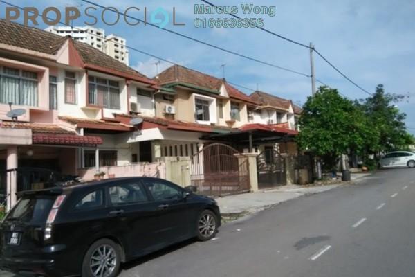 For Sale Terrace at Taman Angsana Hilir, Desa Pandan Leasehold Semi Furnished 4R/3B 608k