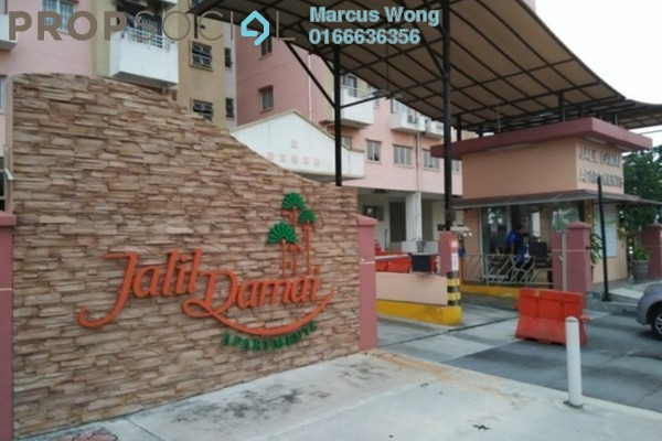 For Rent Condominium at Jalil Damai, Bukit Jalil Freehold Unfurnished 3R/2B 1.2k