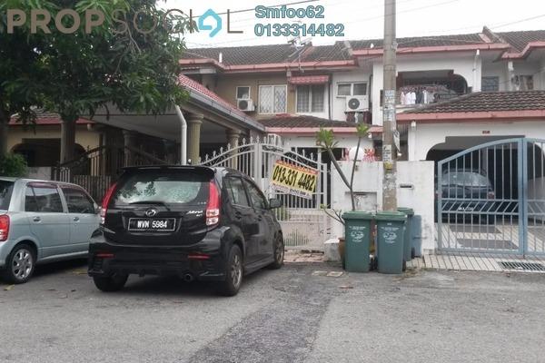 For Rent Townhouse at Taman Setapak Indah, Setapak Leasehold Fully Furnished 3R/2B 1.8k