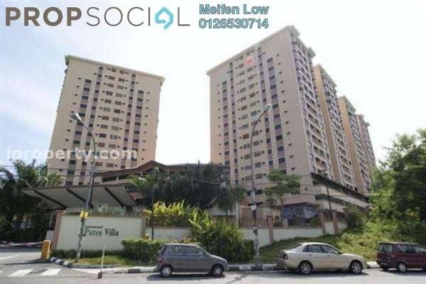 For Sale Condominium at Putra Villa, Gombak Freehold Semi Furnished 3R/2B 495k