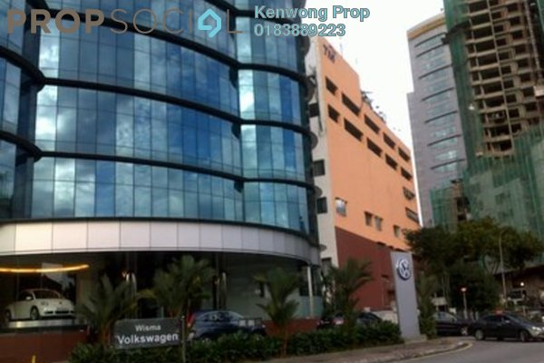 For Rent Office at Wisma Volkswagen, Bangsar Freehold Fully Furnished 0R/0B 10.5k