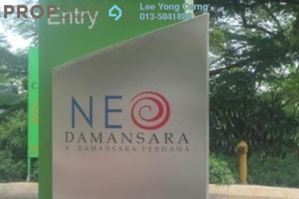 For Rent Condominium at Neo Damansara, Damansara Perdana Leasehold Semi Furnished 1R/1B 2.2k