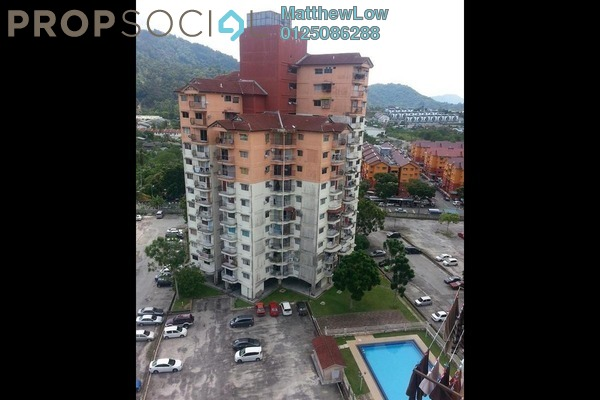 For Rent Apartment at Taman Kumbar Permai, Teluk Kumbar Freehold Unfurnished 3R/2B 800translationmissing:en.pricing.unit