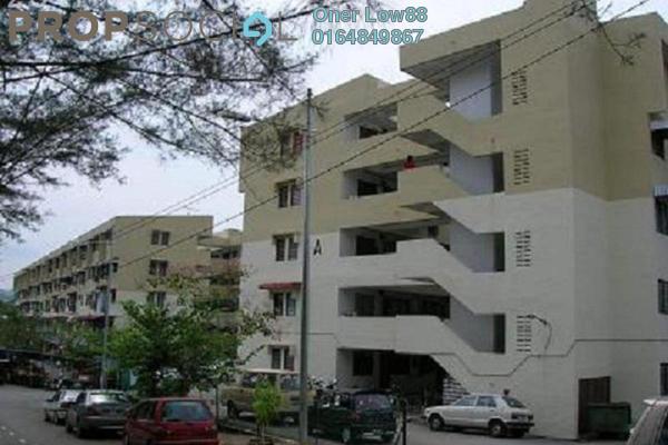 For Rent Apartment at Taman Sri Gertak Sanggul, Teluk Kumbar Freehold Unfurnished 2R/1B 550translationmissing:en.pricing.unit
