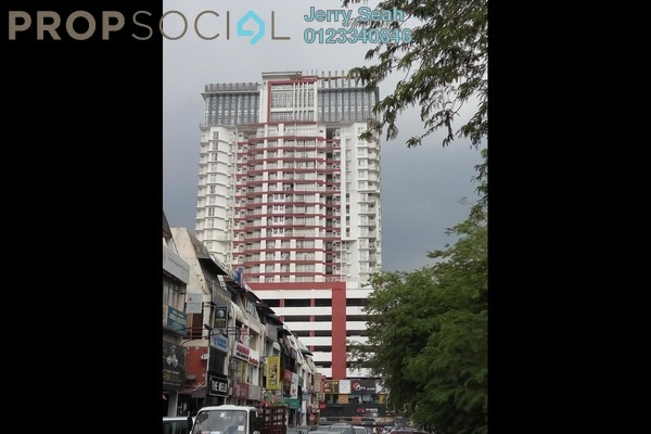 For Sale Serviced Residence at Menara Rajawali, Subang Jaya Leasehold Fully Furnished 4R/3B 718k