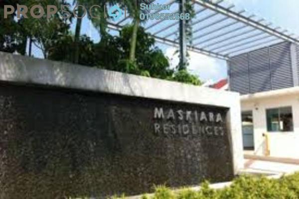 For Sale Condominium at Mas Kiara Residences, TTDI Leasehold Semi Furnished 3R/2B 660k