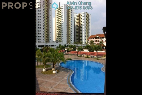 For Rent Condominium at Magna Ville, Selayang Leasehold Semi Furnished 2R/2B 1.1k