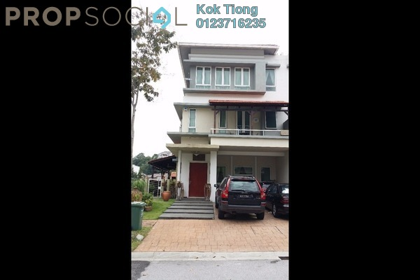 For Rent Semi-Detached at The Rafflesia, Damansara Perdana Leasehold Semi Furnished 5R/5B 5k