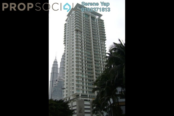 For Rent Condominium at Binjai Residency, KLCC Freehold Fully Furnished 3R/3B 7k