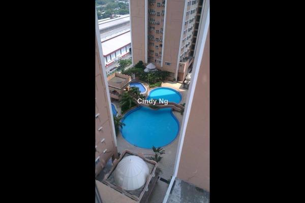 For Rent Serviced Residence at Rhythm Avenue, UEP Subang Jaya Leasehold Unfurnished 2R/1B 1k