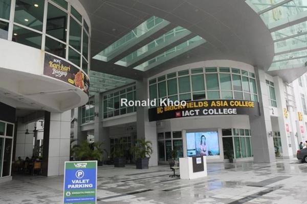 For Rent Office at V Square, Petaling Jaya Leasehold Unfurnished 0R/0B 2.76k