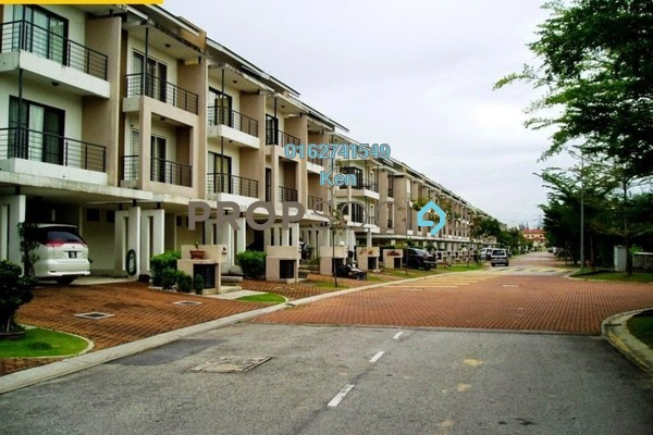 For Sale Terrace at Lake Edge, Puchong Leasehold Fully Furnished 5R/5B 1.38m