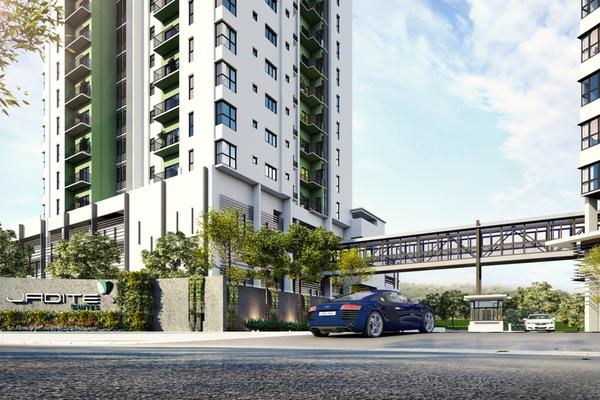 For Sale Condominium at Jadite Suites, Kajang Freehold Unfurnished 3R/2B 540k