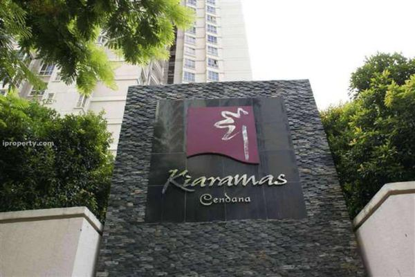 For Rent Condominium at Kiaramas Cendana, Mont Kiara Freehold Semi Furnished 4R/4B 6.5k