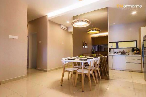 For Sale Condominium at The Armanna @ Kemuning Prima, Kemuning Utama Freehold Unfurnished 3R/2B 520k