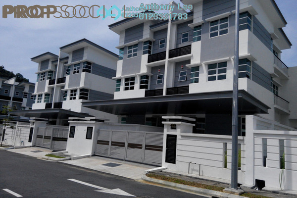 For Sale Semi-Detached at Blue Sky Residence, Selayang Heights Leasehold Fully Furnished 5R/4B 1.46m