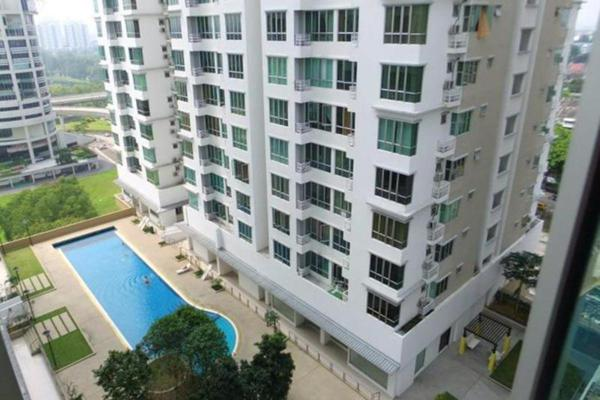 For Sale Condominium at Casa Tiara, Subang Jaya Freehold Unfurnished 3R/2B 545k