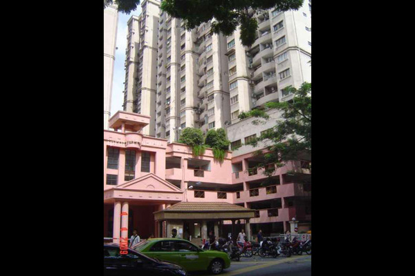 For Sale Condominium at Kenanga Point, Pudu Freehold Unfurnished 3R/2B 500k
