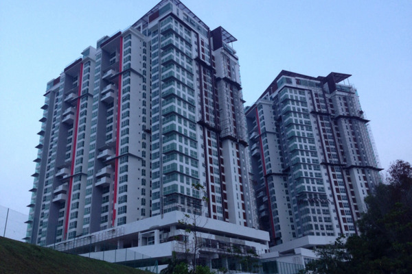 For Sale Condominium at Seringin Residences, Kuchai Lama Freehold Unfurnished 4R/4B 1m