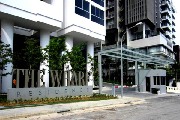 For Sale Condominium at The Wharf, Puchong Leasehold Semi Furnished 4R/2B 600k