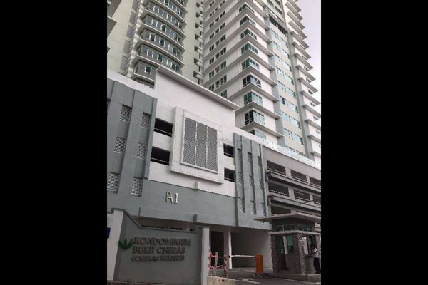 For Sale Condominium at Cheras Heights Condominium, Cheras South Freehold Unfurnished 4R/2B 600k