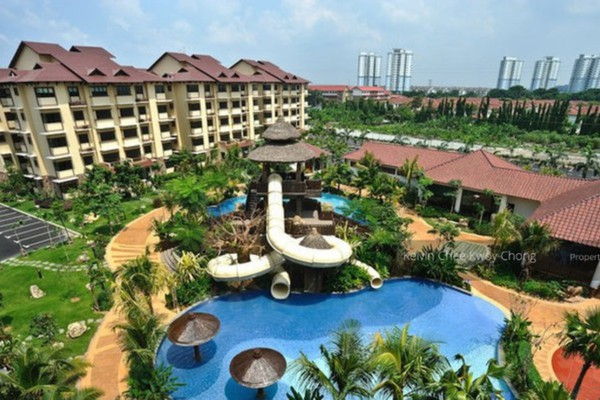 For Rent Condominium at Desa Idaman Residences, Puchong Freehold Semi Furnished 3R/2B 1.3k