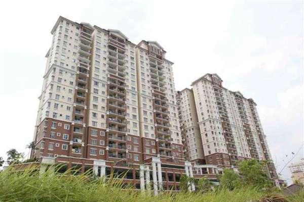 For Rent Condominium at Fortune Park, Seri Kembangan Leasehold Semi Furnished 3R/2B 1.7k