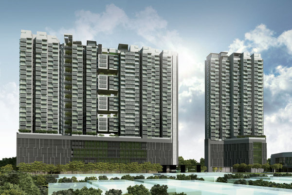 For Rent Condominium at The Leafz, Sungai Besi Freehold Semi Furnished 2R/2B 2.5k